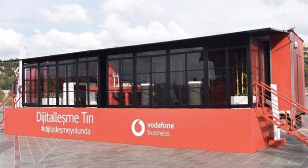 Vodafone, İşletmelere Dijitalleşmeyi Götürmek İçin Yola Çıktı