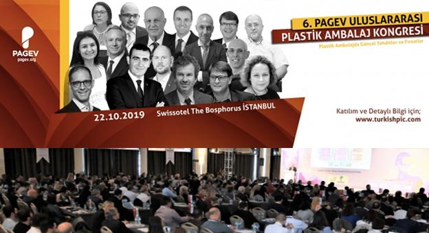 6. PAGEV Uluslararası Ambalaj Teknolojileri Kongresi 22 Ekim'de