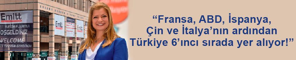 """Emitt'in Başarılı Direktörü Hacer Aydın; """"EMITT Türkiye'nin Kültürel Zenginliklerinin de Tanıtıldığı Bir Platform!"""""""