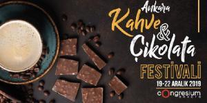 3.Ankara Kahve ve Çikolata Festivali, Congresium'da Başlıyor