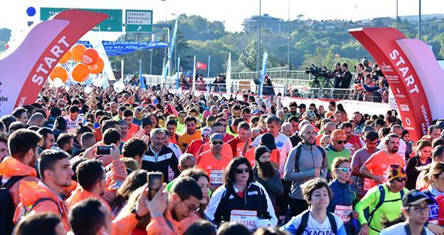 VODAFONE 41. İSTANBUL MARATONU'NDA 20 MİLYON TL'Yİ AŞKIN BAĞIŞ TOPLANDI