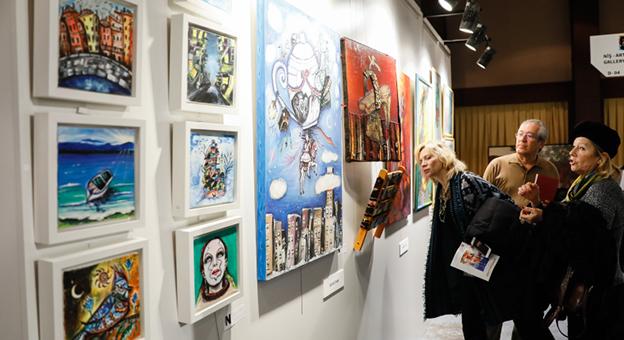 İstanbul Art Show Sanat Ödülleri Verildi