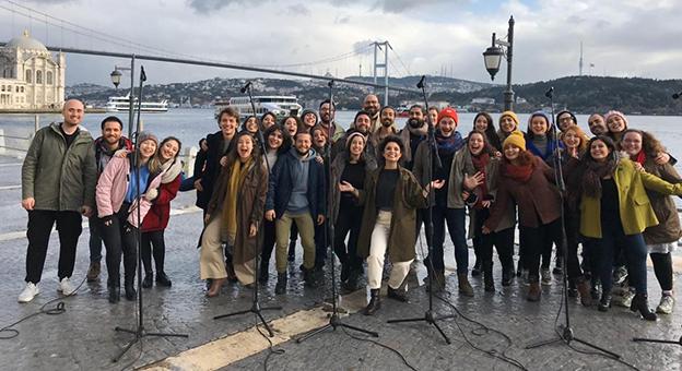 Küresel İklim Hareketinin Türkiye Elçisi Chromas Korosu Oldu