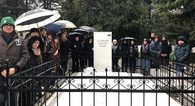 Ahmet Adnan Saygun Mezarı Başında Anıldı