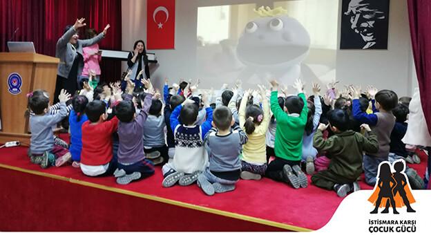 İstismara Karşı Çocuk Gücü Eğitimleri Başladı