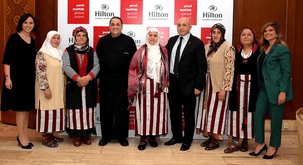 """Hilton'un """"Yerel Mutfak Global Lezzet"""" Projesi Trabzon'daydı"""
