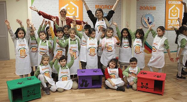 Migros, Aile Kulüpleri ile Çocukları Eğitiyor