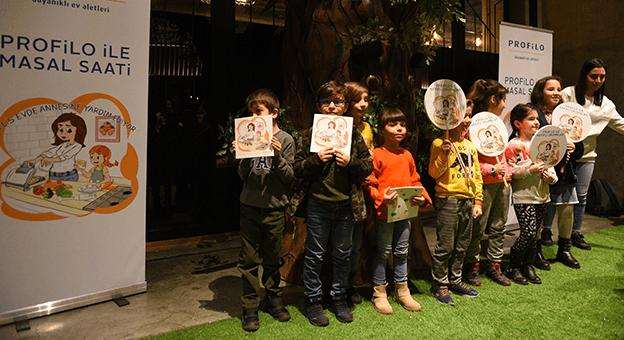 Profilo Yarıyıl Tatilinde Çocuklara Sürpriz Yaptı