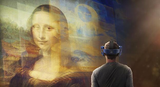 Sanal Mona Lisa İstanbul'da