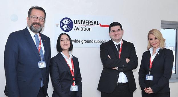 Universal Havacılık Türk Hava Sahasına Girdi