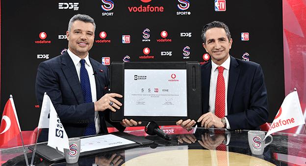 Vodafone ve Saran Group Güç Birliğine Gitti