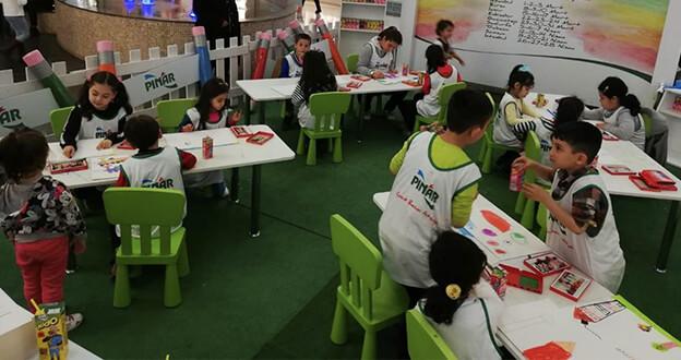 Pınar Çocuk Resim Atölyesi Başlıyor