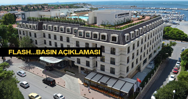 Wyndham Grand Kalamış Marina Hotel Basın Açıklaması Yaptı