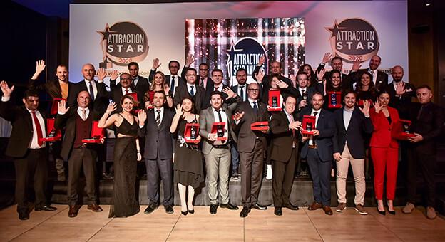 Attraction Star Awards 2020 Sahiplerini Buldu
