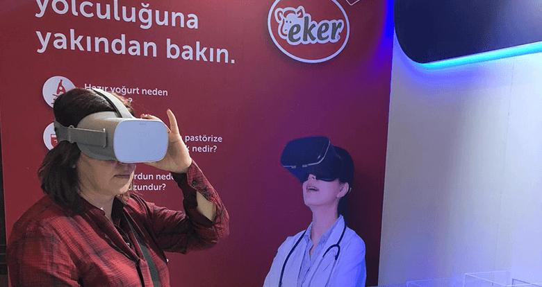 7. Marmara Pediatri Kongresi'nde VR Fabrika Gezisi