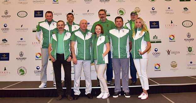 Kulüplerarası Golf Turnuvasının Galibi Rusya Oldu