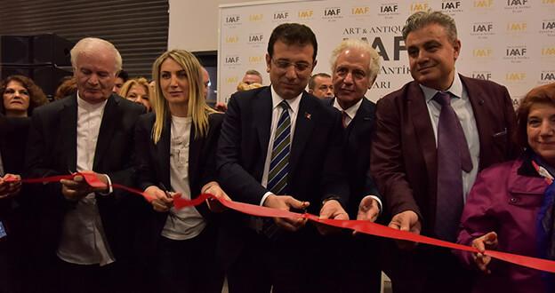 Türkiye'nin İlk Sanat ve Antika Fuarı Kapılarını Açtı