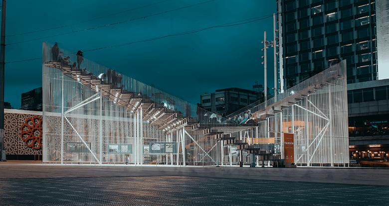 Strüktür, Taksim Meydanı'nın Yeni Gözdesi