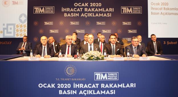 TİM, İhracat 2020 Yılına Rekorla Başladı