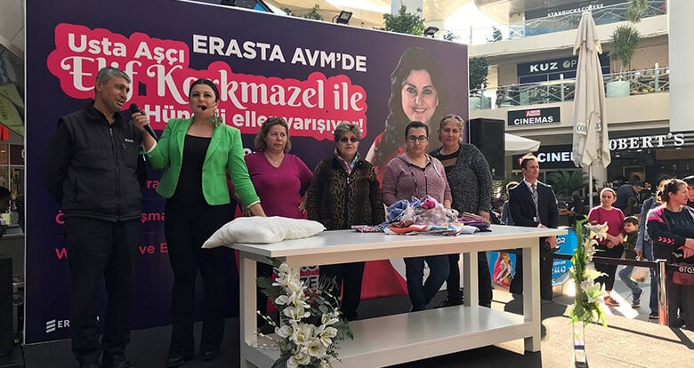Erasta AVM'den Kadınlar Günü'ne Özel Etkinlik