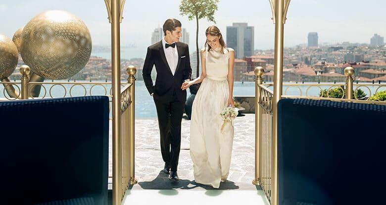 Düğünlerin lüks adresi Fairmont Quasar Istanbul