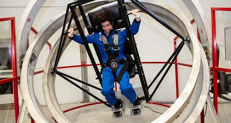 Türk Öğrenciler ABD'de Uzay Kampında