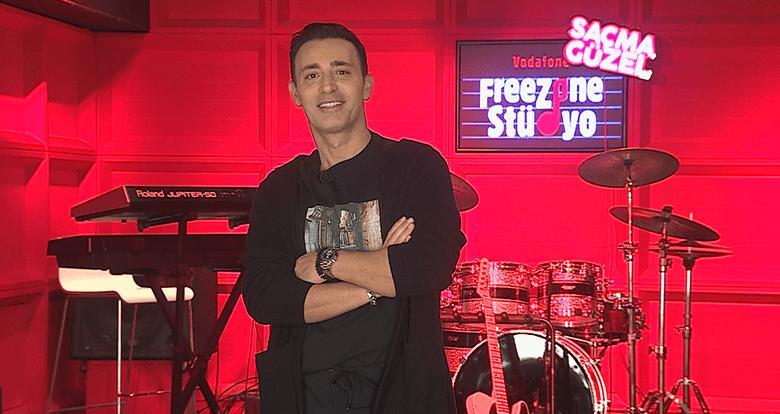 Mustafa Sandal, Vodafone Freezone Yarışmasında Koçluk Yapacak