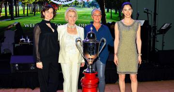 Sebahat Özaltın Golf Turnuvası Ödülleri Verildi