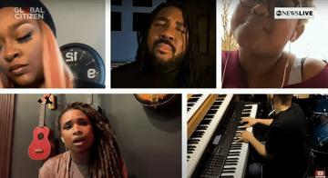 Global Citizen'in Sekiz Saatlik Konser Yayınında Dünya Starları Büyüledi