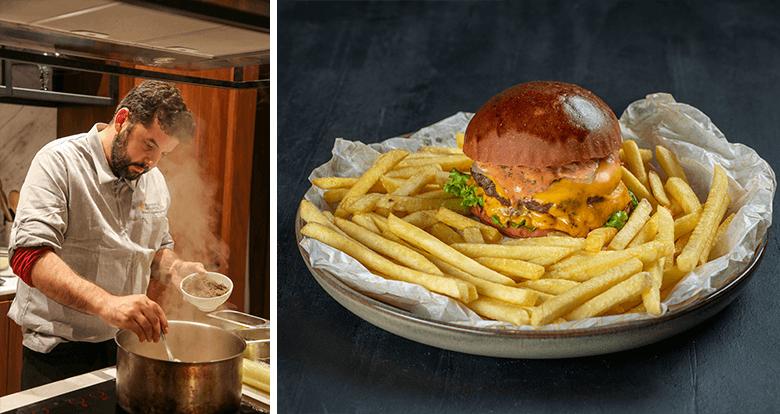 Michelin Yıldızlı İspanyol Şeften Burger Servisi