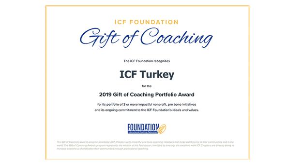 """ICF Türkiye, """"2019 Onur Ödülü"""" nün sahibi oldu"""