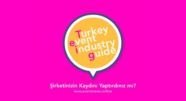 """Turkey Event Industry Guide"" yayında"