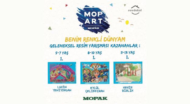 Mopart Resim Yarışması'nın Kazananları Belli Oldu