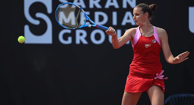 Kadınlar Tenis Turnuvası'nın Şampiyonu Karolina Pliskova Oldu