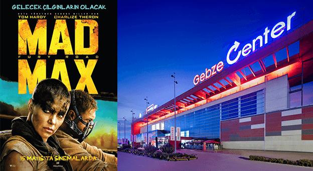 Gebze Center'da arabalı açıkhava sineması günleri başlıyor