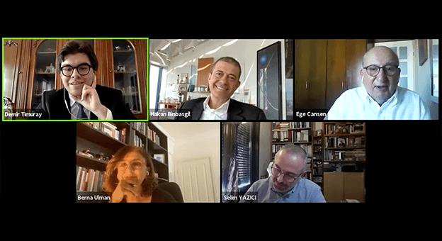 Küresel Finansın Yeni Normali Online Panelde Tartışıldı
