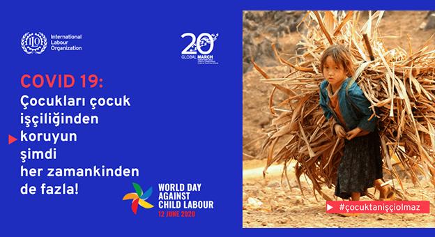 ILO ve UNICEF milyonlarca çocuk için uyardı