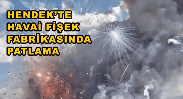 Havai fişek fabrikasında patlama: 4 can kaybı, 97 yaralı