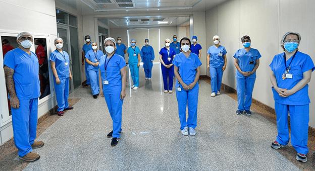 40 kişilik uzman ekip, Azerbaycan'a gitti