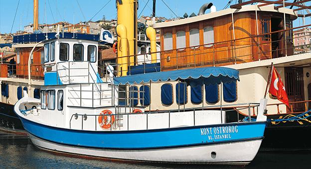 Koç Müzesi, tekne turları ile 'Altın Boynuz'u keşfe çıkarıyor