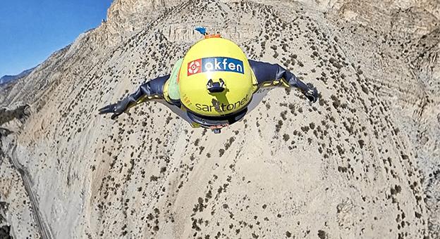 Zafer Bayramı'nı 540 metre Yükseklikte 205 Kilometre Hızla Kutladı