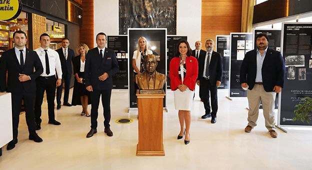 Dedeman Yönetimi Kartal'ın Yolculuğu Sergisi ile Trabzon'da