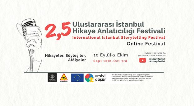 Uluslararası İstanbul Hikâye Anlatıcılığı Online Festivali Devam Ediyor