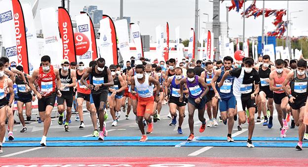 15. İstanbul Yarı Maratonu Tamamlandı