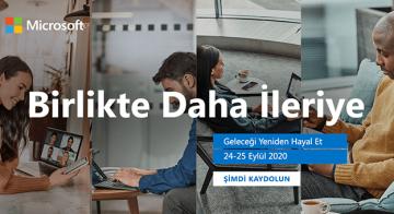 Microsoft Türkiye'nin Sanal Zirvesi 24-25 Eylül'de
