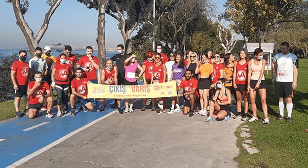 Binlerce Koşucu 7.Eker I Run Online Festivalde Buluştu
