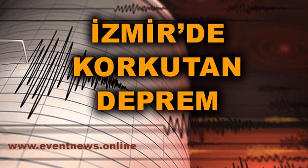 SON DAKİKA: İzmir'de 6,6 Büyüklüğünde Deprem Meydana Geldi