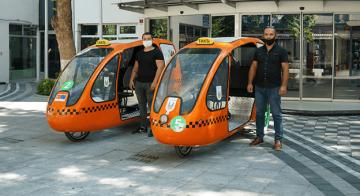 Bisiklet Taksiler 5 Ayda 2 Bin 500 Kişi Taşıdı