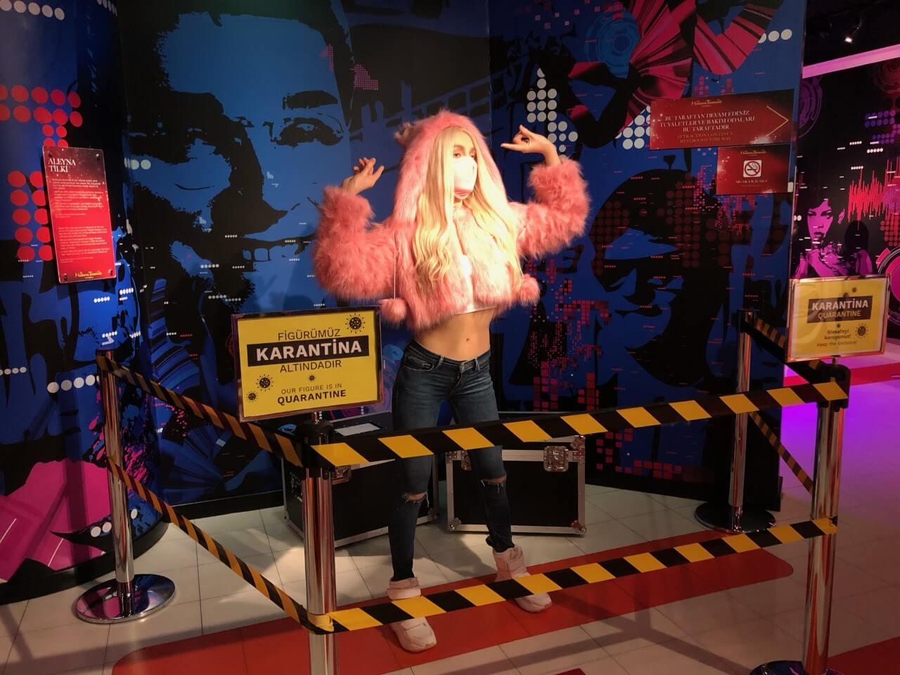 Aleyna Tilki'nin Balmumu Figürü Madame Tussauds'da