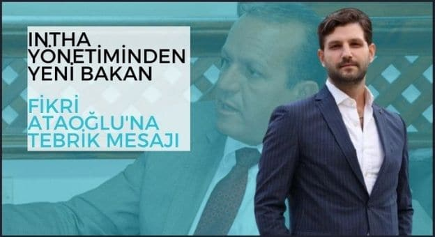 INTHA Yönetiminden Yeni Bakan Fikri Ataoğlu'na Tebrik Mesajı